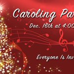 Image for the Tweet beginning: Youth and All Church Caroling