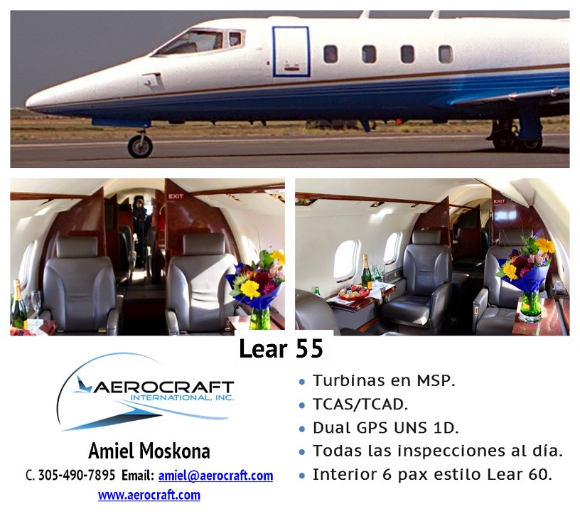 #Aircraftonsale Lear 55 Contact me! #elitejetsetter #privatecharter #lear55 #learjet #planeonsale #Sale #Latam #Mexico