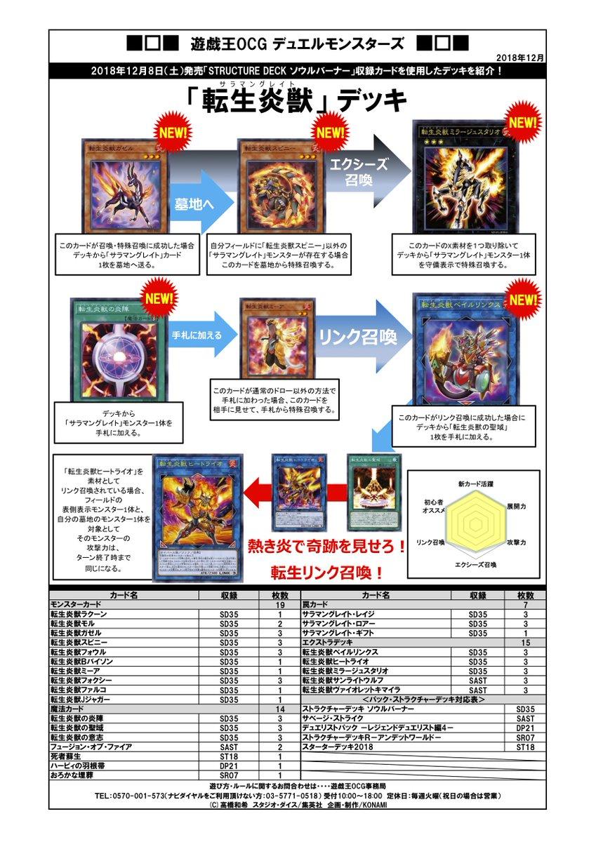 遊戯王OCG デュエルモンスターズ ストラクチャーデッキ ソウルバーナーに関する画像7