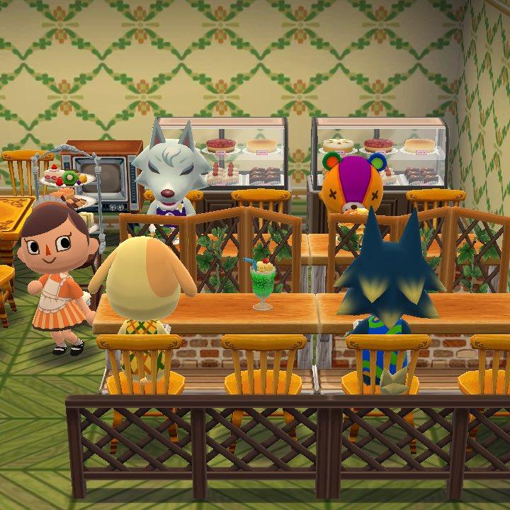 とびだせどうぶつの森 コーヒー屋さん
