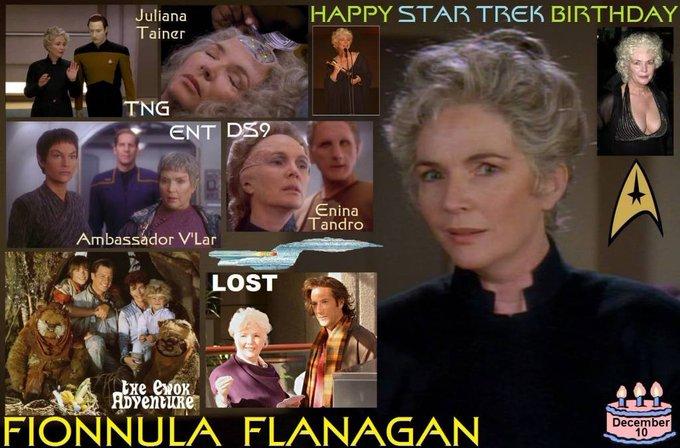 Happy birthday to Fionnula Flanagan, born December 10,1941.