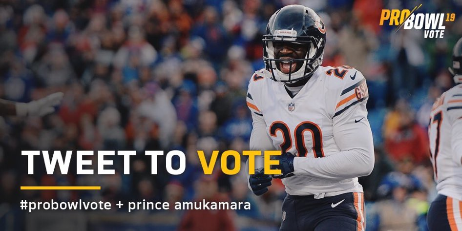 1 RT = 1 #ProBowlVote! @PrinceAmukamara How many RTs can this tweet get?? 😎