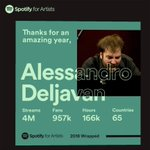 Image for the Tweet beginning: Wow! Congratulations to #AlessandroDeljavan @alessandrodljvn