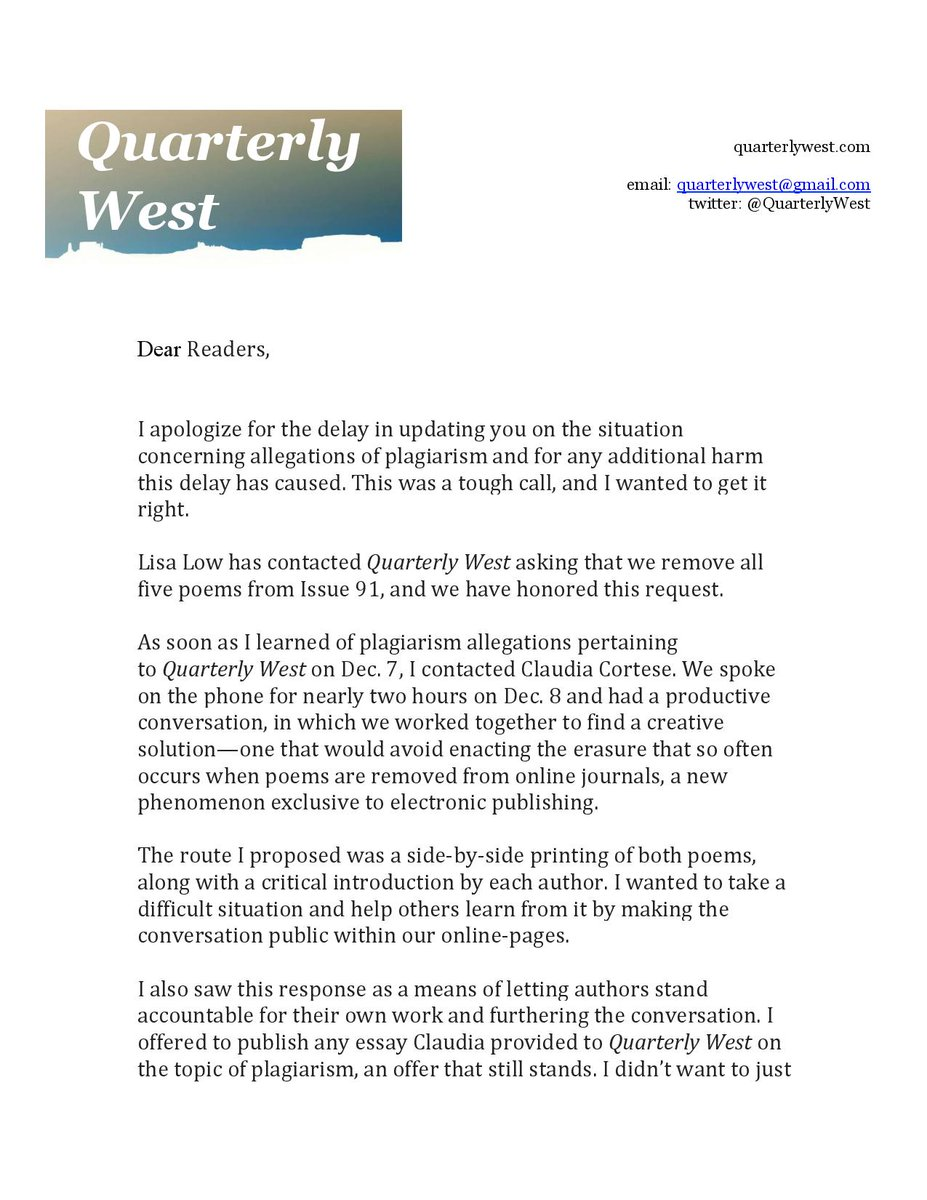 quarterly west (@quarterlywest) | twitter