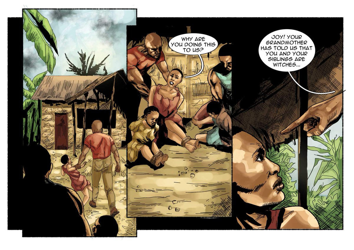 This graphic novel tells the story of children being accused of witchcraft in Nigeria https://t.co/yVGgo51jae