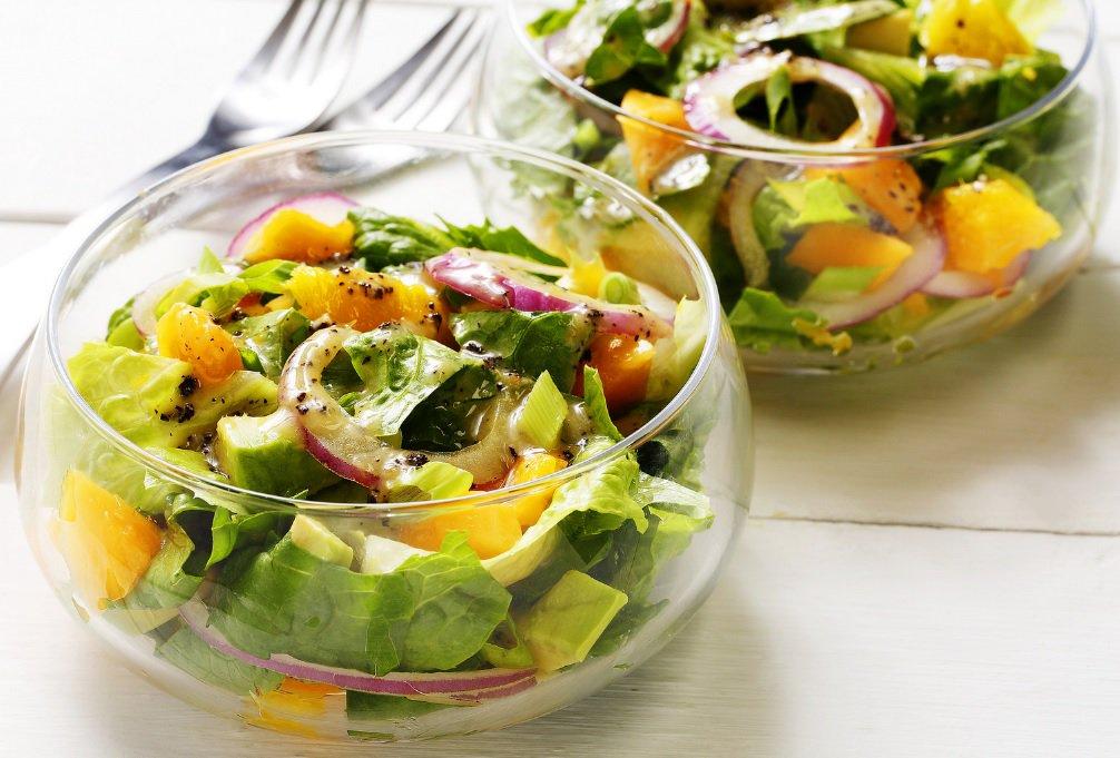 Диета с огуречным салатом