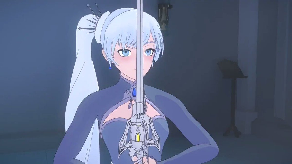 Weiss's first summon is so COOL
