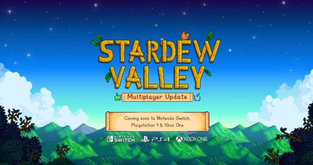 #StardewValley for the #NintendoSwitch will be receiving a massive Multiplayer Update! https://t.co/RlMSLWd8MJ