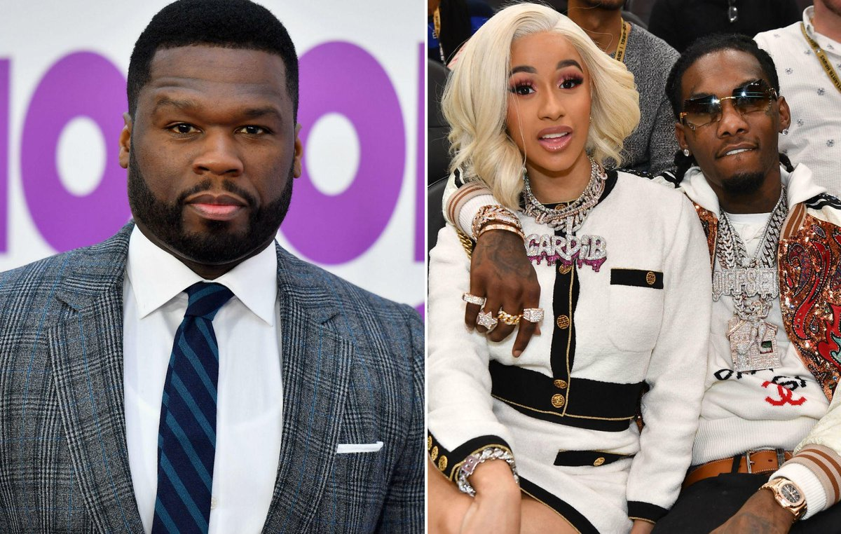 """That boy love you"": 50 Cent pleads with Cardi B not to divorce Offset https://t.co/6Qc81LN7zS"