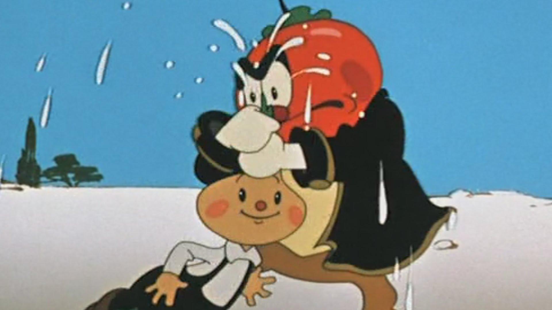 Мультфильм веселые картинки ретро незнайка синьор помидор