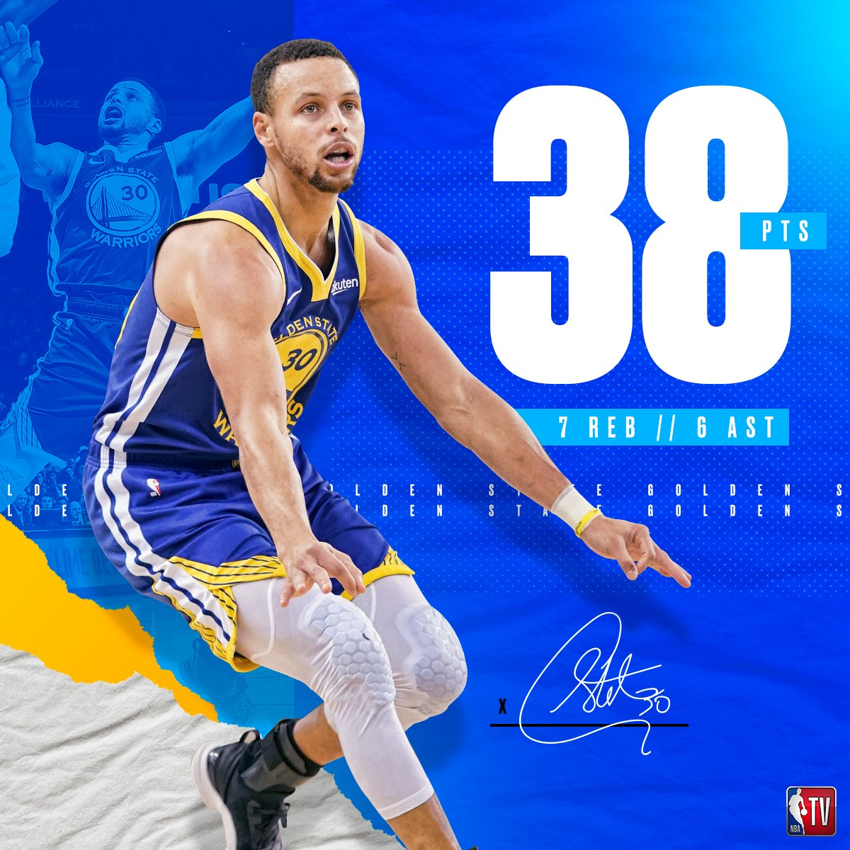 Steph being Steph. 😳  #DubNation