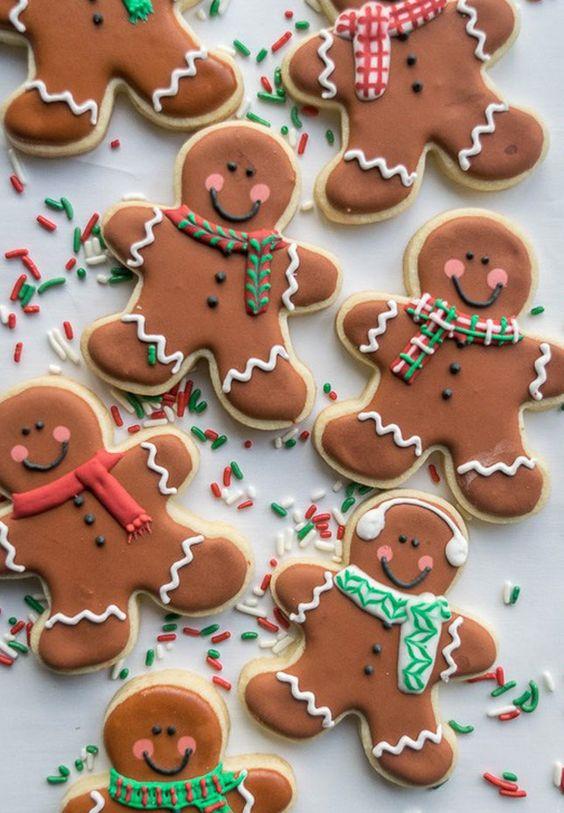 Recipedev On Twitter Christmas Gingerbread Men Sugar Cookies