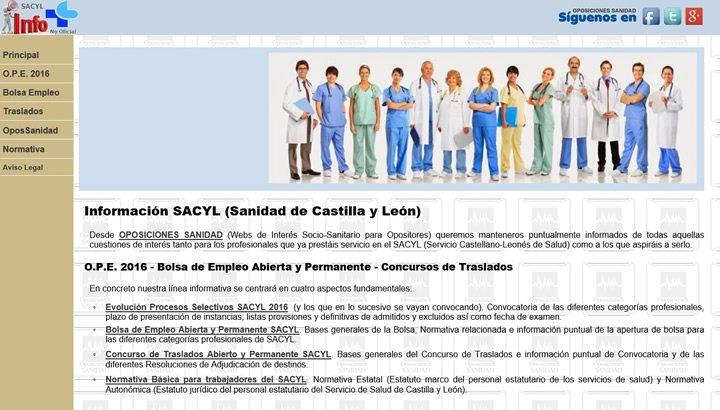 Bolsa de Empleo distintas categorías SACYL en plazo de presentación de instancias hasta el 30-Noviembre-2018... DuH6KO7WsAEpFn6