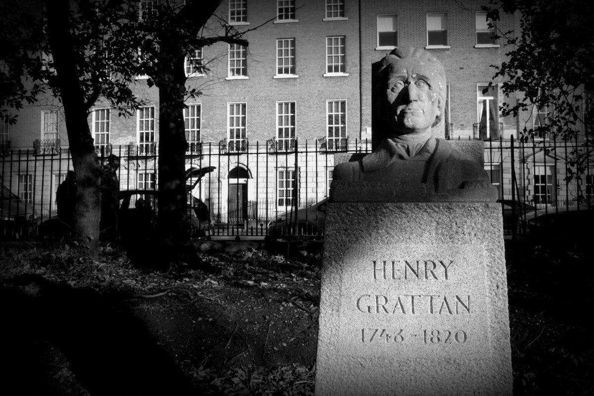 test Twitter Media - Henry Grattan, Merrion Sq. #photography #Dublin #parks https://t.co/ExSOLhJKcd
