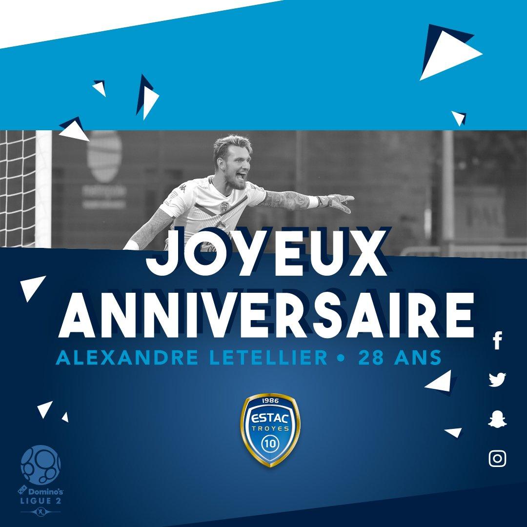 Estac Troyes On Twitter Joyeux Anniversaire Alexandre