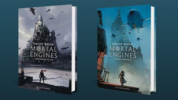 #MardiConseil Philip Reeve, la saga Mortal Engines rééditée chez @GallimardJeun Photo