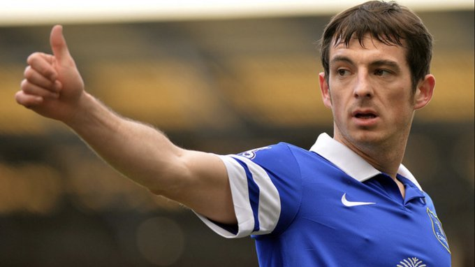 Happy birthday to Leighton baines have a great day what a servant to us