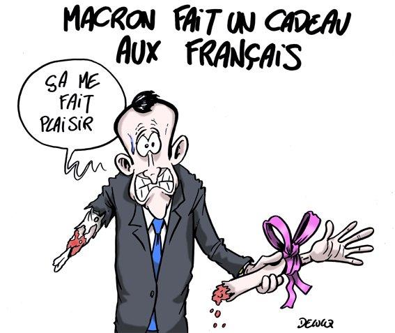 A bras raccourci #macron20h #Macron<br>http://pic.twitter.com/dHIy71gI5l