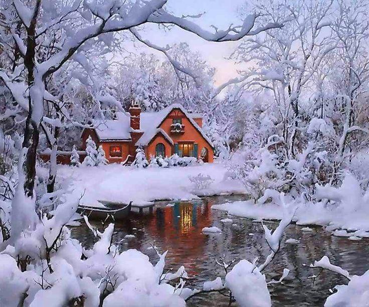 Картинка зима гифка, чата