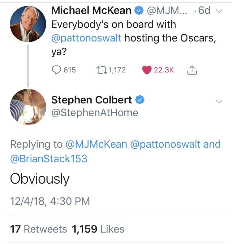 Patton Oswalt on Twitter