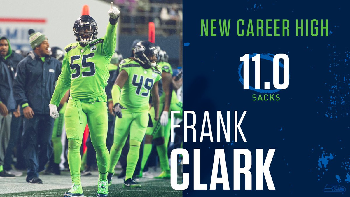 sacks and counting for Black Elvis, a career-high!   @TheRealFrankC_ | #GoHawks<br>http://pic.twitter.com/kDxtmxWt4z