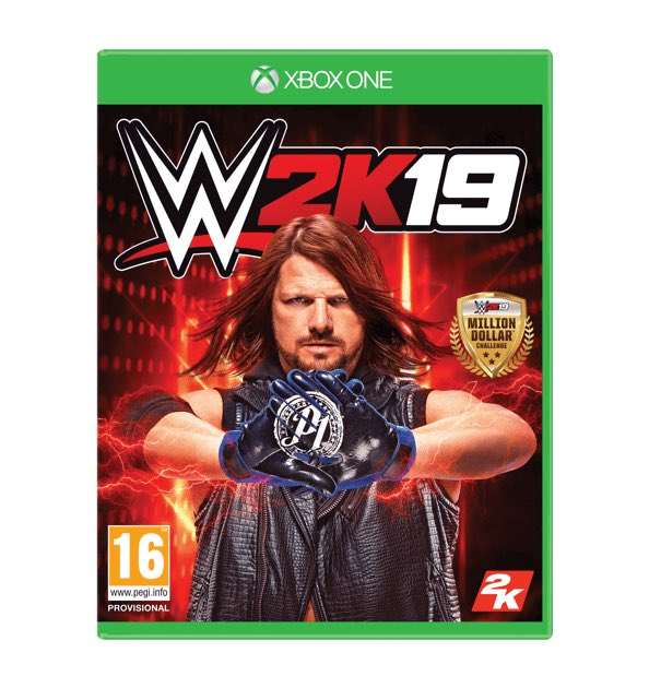 DAY 11: Your chance to #win a copy of #WWE2K19 on PS4 or Xbox One! ENTER NOW: https://t.co/ni52yxkRzv