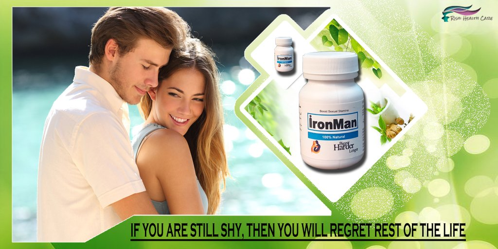 #Ayurveda Solution of Men's Sexual Problem Name - Ironman Capsule URL - https://rishihealthcare.info/product/ironman/ … … Mail - wakeupindia25@gmail.com Cont 91-7065017490 #love #lovebychanceseries #romancenovel #RelationshipAdvice, #dating #Romance #marriage #kiss