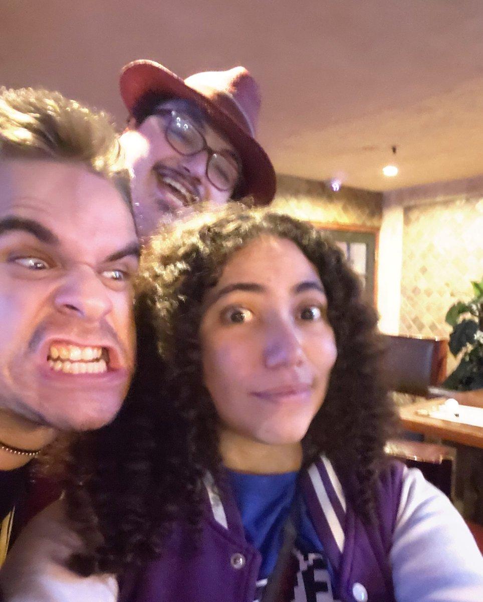We crashed @RicepirateMick's birthday gathering I love my dudes