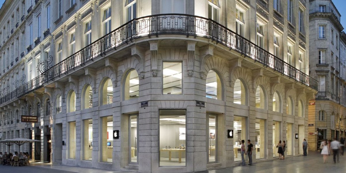 Apple Bordeaux store vandalized and robbed during French 'yellow vest' riots https://t.co/PBBFA6yyVr