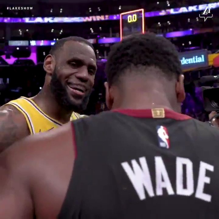 'All the way here... playing at @STAPLESCenter... from being at predraft?!?!' #OneLastDance