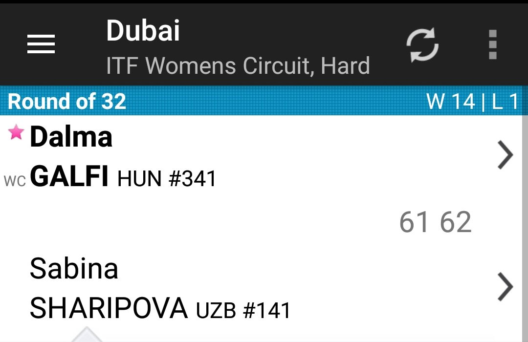 Dalmi won a match 😍