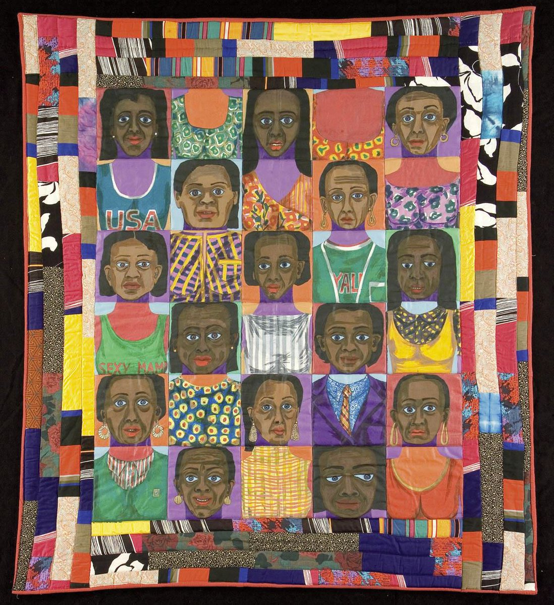 Faith Ringgold The Purple Quilt
