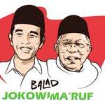 #BaladJokowiMaruf Twitter Photo