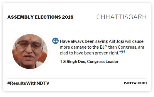"""#ResultsWithNDTV  