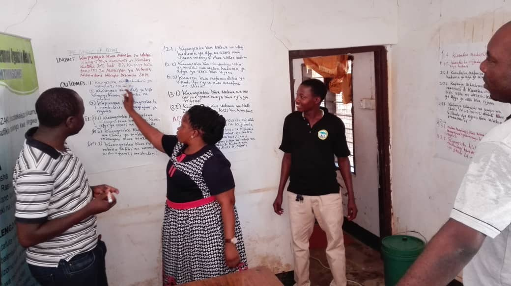 Mentoring and coaching of civil society orgs-CSOs involves practical and hands-on skills building exercises @GuesturdH