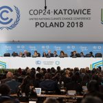 Image for the Tweet beginning: At @UN #ClimateAction conf. #COP24,