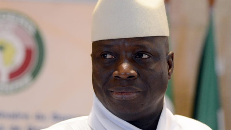 Former Gambian President Yahya Jammeh blocked from entering the US https://t.co/AxUIlKDLSW
