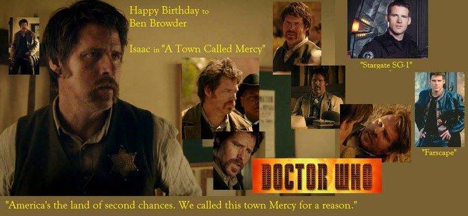 Happy birthday to Ben Browder, born December 11,1962.