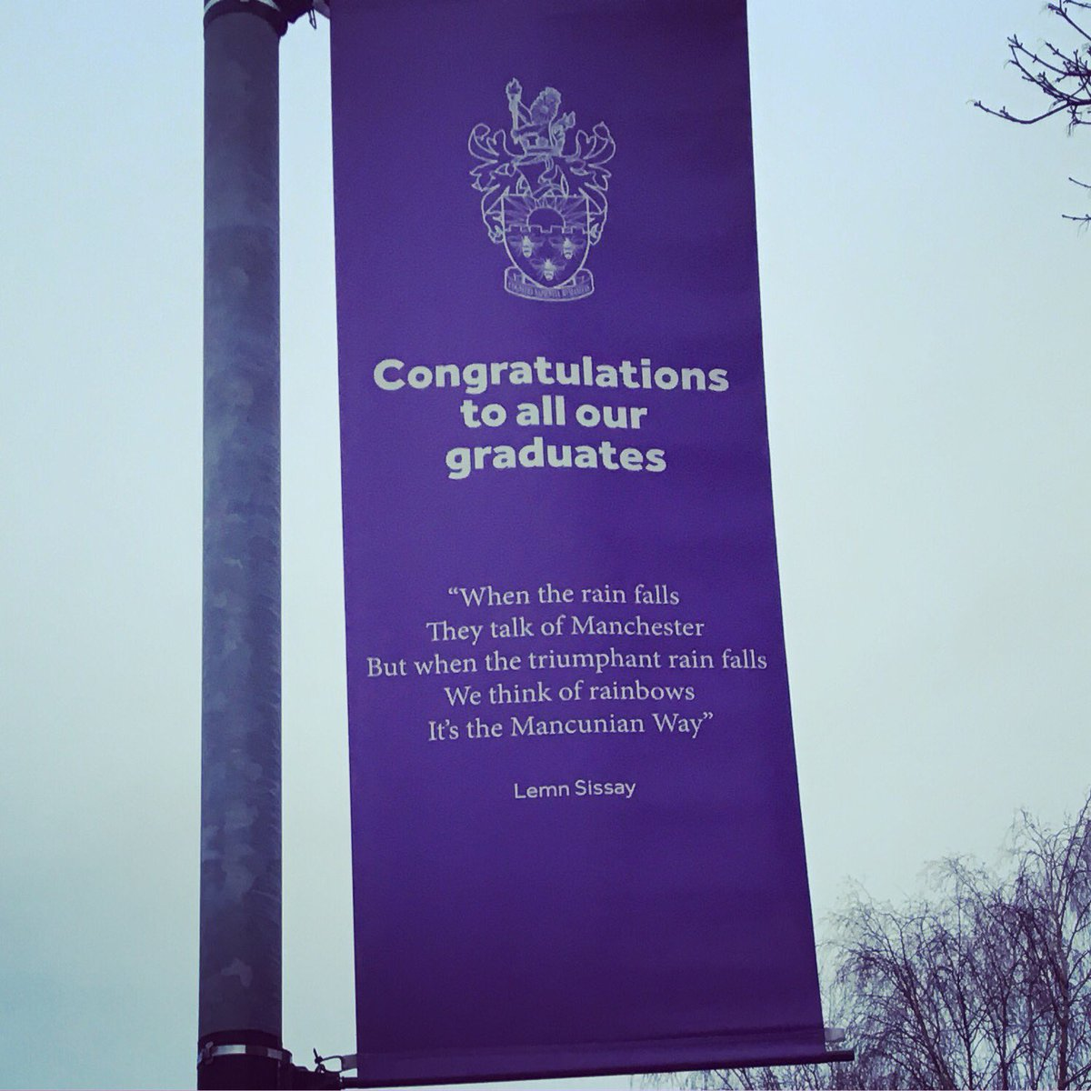 I made it! (even though I forgot I can't teleport into Manchester) #graduationday #huzzah