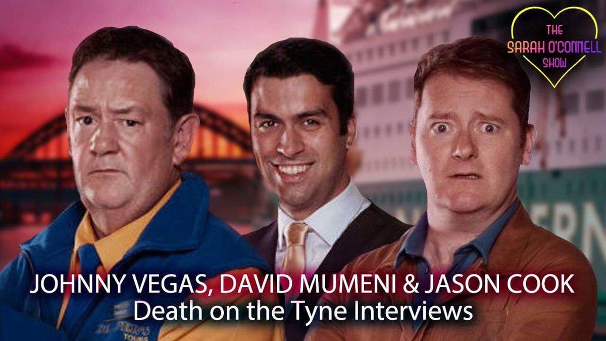 Watch my hilarious interviews with Johnny Vegas, David Mumeni & Jason Cook, stars of #DeathOnTheTyne! Subscribe and ENJOY: youtu.be/jRts7vhVZhY