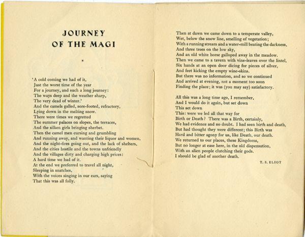 ts eliot journey of the magi