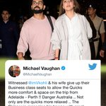 Virat Kohli and Anushka Sharma Twitter Photo