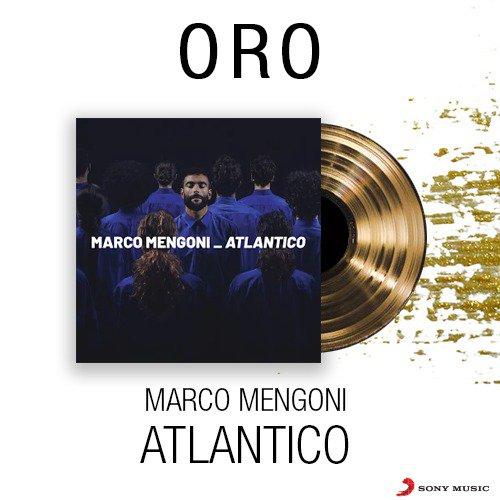 Il nuovo album di @mengonimarco è un oceano di emozioni. #Atlantico è già DISCO D'ORO! 🌊📀