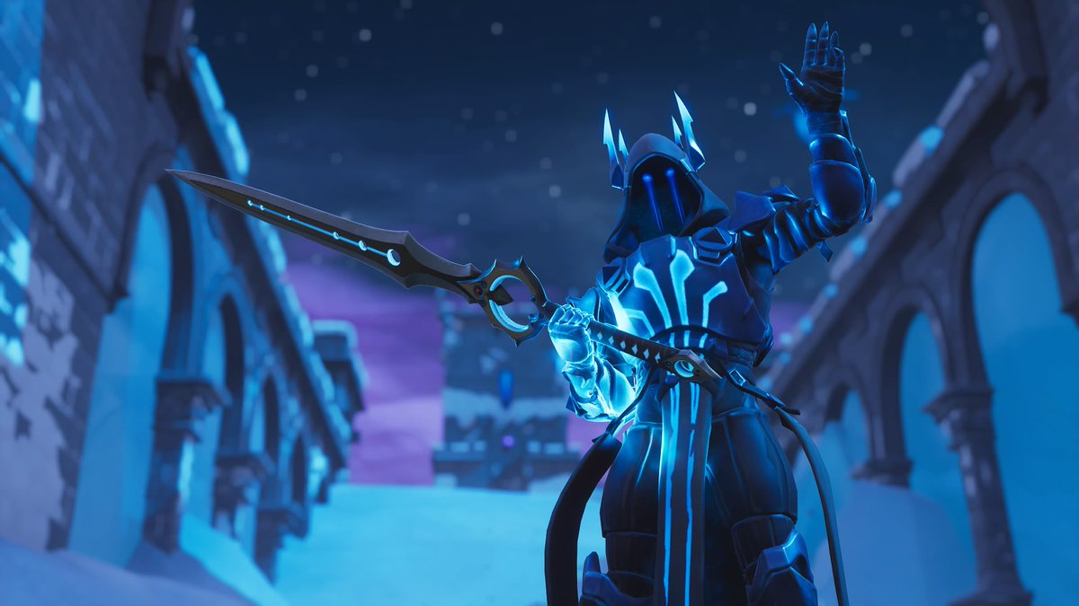 Shadowsupremacy On Twitter The Ice King Wielding The Infinity Blade In Fortnite Battle Royale Fortnite