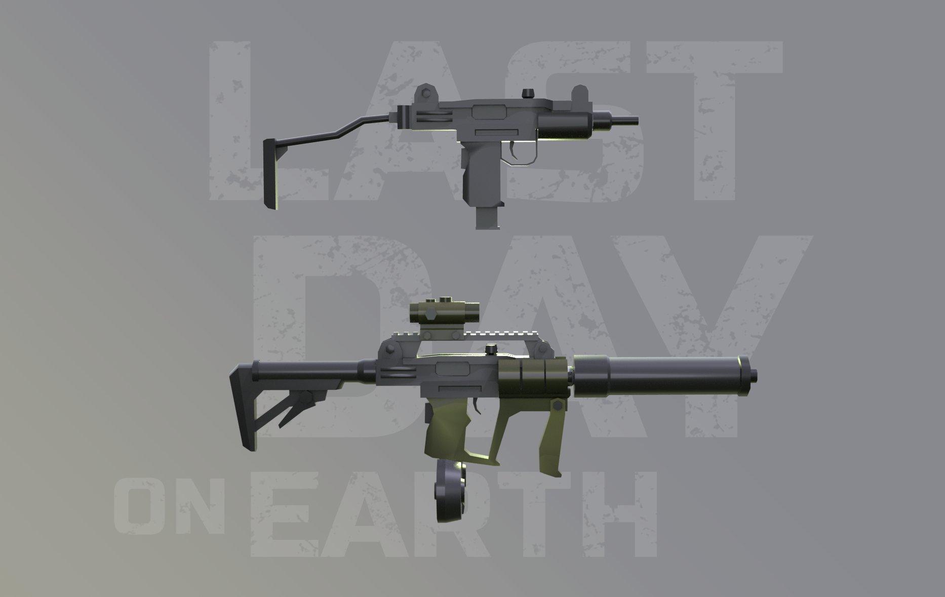 last day on earth machine gun