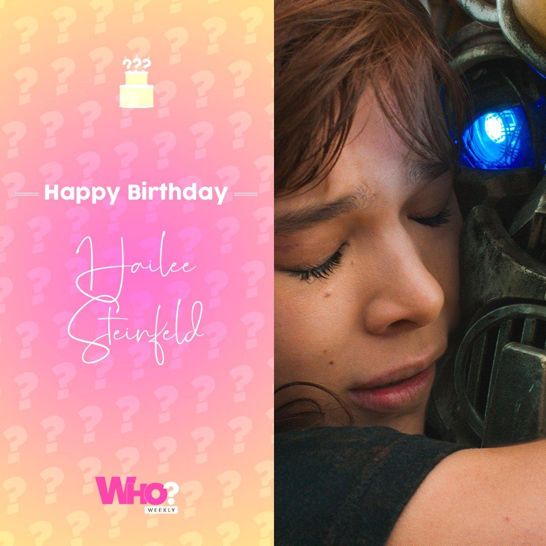 Happy birthday, Hailee Steinfeld!