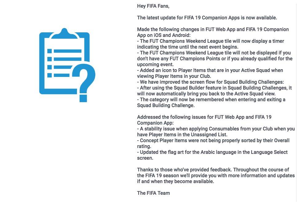 FIFA Infinity on Twitter: