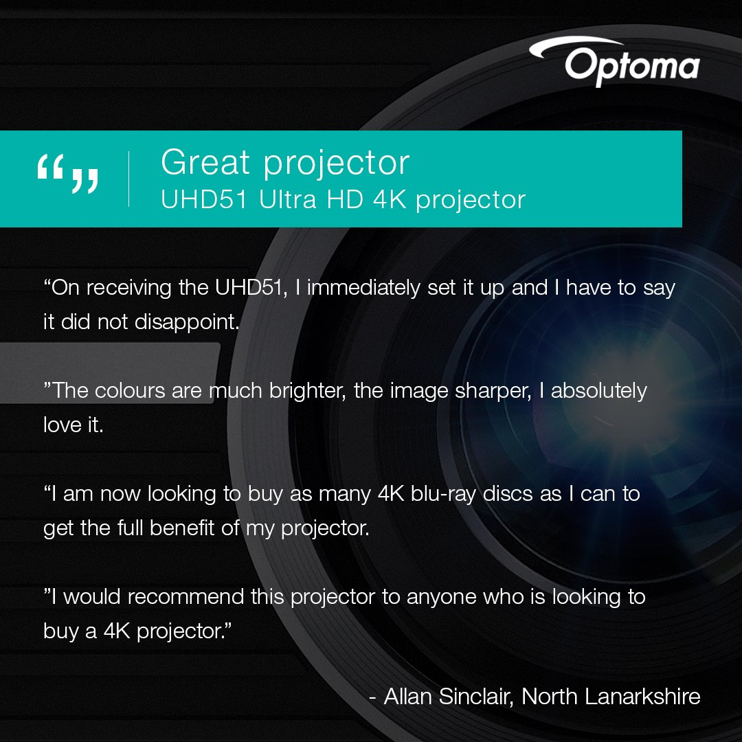 Optoma UK on Twitter: