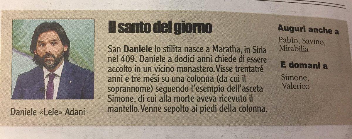 RT @leopontalti: @leleadani #santosubito @giornale...