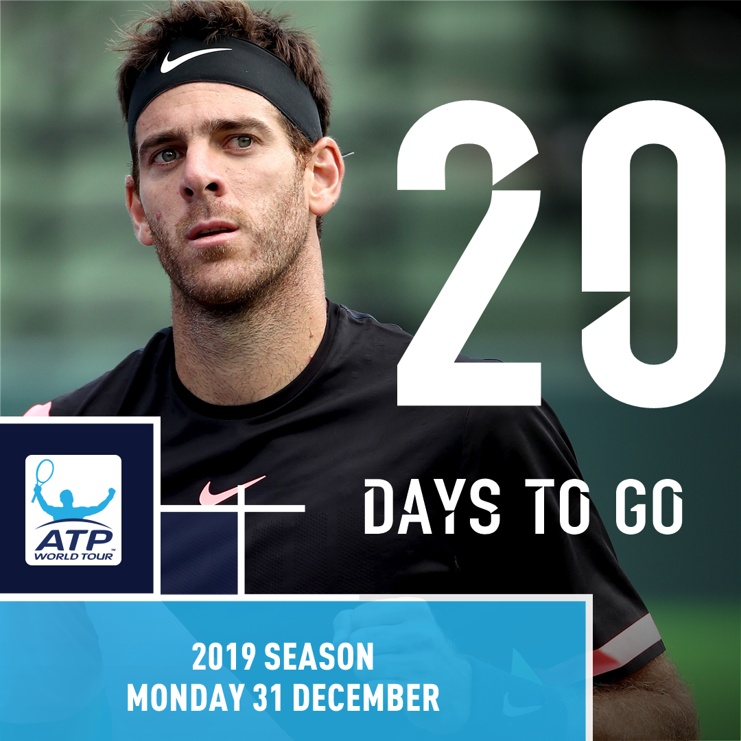 The countdown is on... I'm excited for the 2019 ATP Tour season because __________